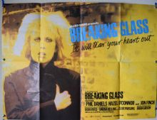 Breaking Glass (1980) Film Poster (Rare Yellow Style)- UK Quad